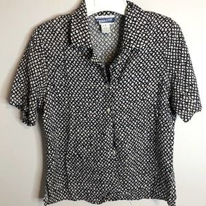 Pendleton short sleeve top size 6 petite